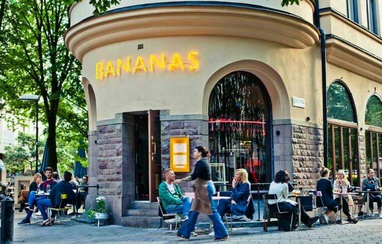 Bistro Bananas i Stockholm
